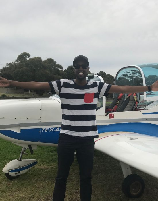 Ahmed Aden – First Solo