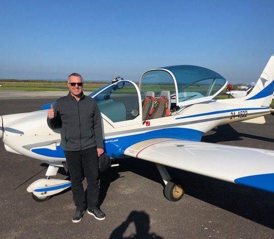 New Pilot – Cameron McDonald