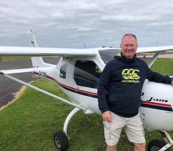 New Pilot – Stewart Gray