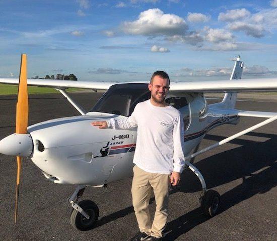 Pilot Certificate – Mitchell Camilleri