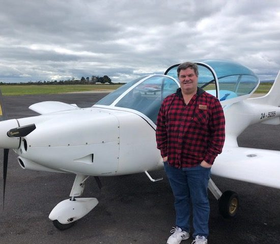 David Warren – Pilot Certificate