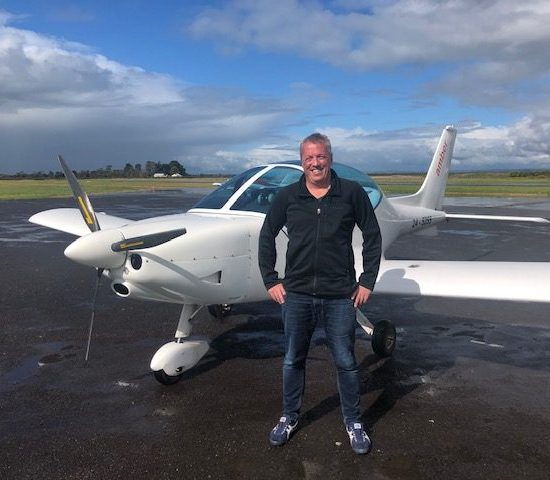 First Solo – Bernard Hollole